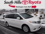 2015 Blizzard White Pearl Toyota Sienna Limited AWD #125289349