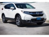 2018 White Diamond Pearl Honda CR-V EX-L #125289409