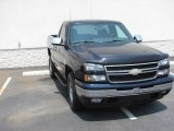 2006 Dark Blue Metallic Chevrolet Silverado 1500 LT Regular Cab 4x4 #12521304