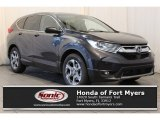 2018 Gunmetal Metallic Honda CR-V EX-L #125289264