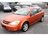 2007 Sunburst Orange Metallic Chevrolet Cobalt LS Coupe #12499987