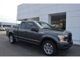 2018 Magnetic Ford F150 XL SuperCab 4x4 #125289384
