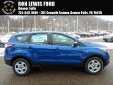 2018 Lightning Blue Ford Escape S #125289302