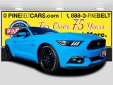 2017 Grabber Blue Ford Mustang GT Premium Coupe #125325184