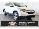 2018 White Diamond Pearl Honda CR-V EX #125325218