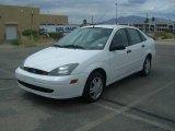 2003 Cloud 9 White Ford Focus SE 2.3 Sedan #12517309