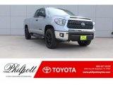 2018 Silver Sky Metallic Toyota Tundra TSS Double Cab #125344144