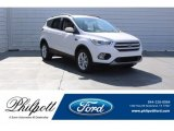 2018 White Platinum Ford Escape SEL #125344142