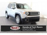 2017 Glacier Metallic Jeep Renegade Latitude #125344018