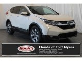 2018 White Diamond Pearl Honda CR-V EX #125344017