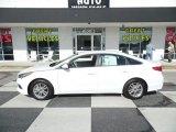 2017 Quartz White Pearl Hyundai Sonata SE #125344181