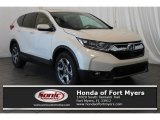 2018 White Diamond Pearl Honda CR-V EX-L #125344015