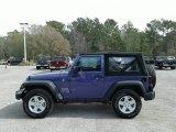 2018 Jeep Wrangler Xtreme Purple Pearl