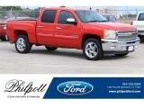 2012 Victory Red Chevrolet Silverado 1500 LT Crew Cab #125373448