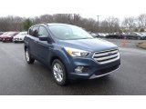 2018 Blue Metallic Ford Escape SE 4WD #125373521