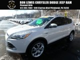 2013 White Platinum Metallic Tri-Coat Ford Escape Titanium 2.0L EcoBoost 4WD #125389792