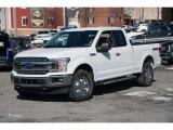 2018 Oxford White Ford F150 XLT SuperCab 4x4 #125389742