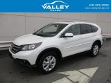 2014 White Diamond Pearl Honda CR-V EX AWD #125403525