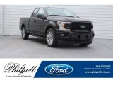 2018 Magma Red Ford F150 STX SuperCab #125403691