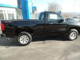2018 Black Chevrolet Silverado 1500 WT Regular Cab 4x4 #125403579