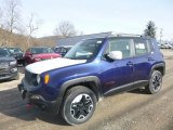 2017 Jetset Blue Jeep Renegade Trailhawk 4x4 #125403674