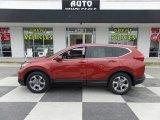 2017 Molten Lava Pearl Honda CR-V EX-L #125403723