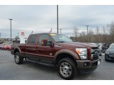 2015 Bronze Fire Ford F250 Super Duty King Ranch Crew Cab 4x4 #125403616