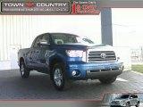 2007 Blue Streak Metallic Toyota Tundra Limited Double Cab #12521858