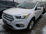 2018 White Platinum Ford Escape SE #125430103