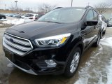 2018 Shadow Black Ford Escape SEL 4WD #125430102