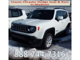 2018 Alpine White Jeep Renegade Latitude 4x4 #125430090