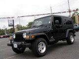 2006 Black Jeep Wrangler Unlimited 4x4 #12500768