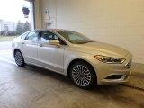 2018 White Gold Ford Fusion SE #125453271