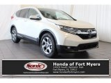 2018 White Diamond Pearl Honda CR-V EX-L #125453209
