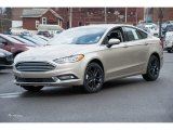2018 White Gold Ford Fusion SE #125453302