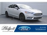 2018 Ingot Silver Ford Fusion SE #125453416