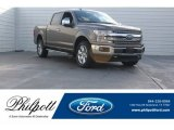 2018 Stone Gray Ford F150 Lariat SuperCrew 4x4 #125453411