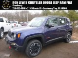 2017 Jetset Blue Jeep Renegade Trailhawk 4x4 #125453235