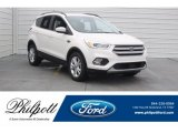 2018 White Platinum Ford Escape SEL #125478976