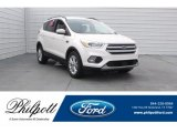 2018 White Platinum Ford Escape SEL #125478975