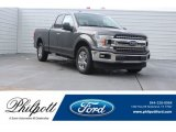 2018 Magnetic Ford F150 XLT SuperCab #125478972