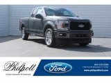 2018 Magnetic Ford F150 STX SuperCab #125478971