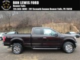 2018 Magma Red Ford F150 XLT SuperCab 4x4 #125478864