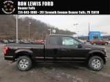2018 Magma Red Ford F150 XLT SuperCab 4x4 #125478863