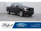 2018 Magma Red Ford F150 XL SuperCrew 4x4 #125478969