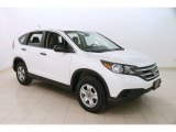 2014 White Diamond Pearl Honda CR-V LX AWD #125479069