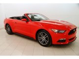 2017 Race Red Ford Mustang EcoBoost Premium Convertible #125479112
