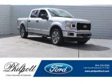 2018 Ingot Silver Ford F150 STX SuperCrew 4x4 #125478959