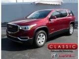 2018 Crimson Red Tintcoat GMC Acadia SLE AWD #125479055