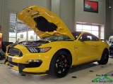 2017 Triple Yellow Ford Mustang Shelby GT350R Coupe #125478730